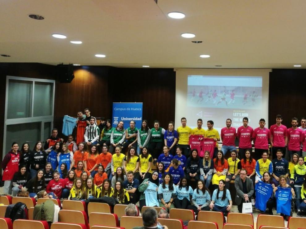 Las competiciones universitarias en el Campus de Huesca reivindicarán el deporte femenino