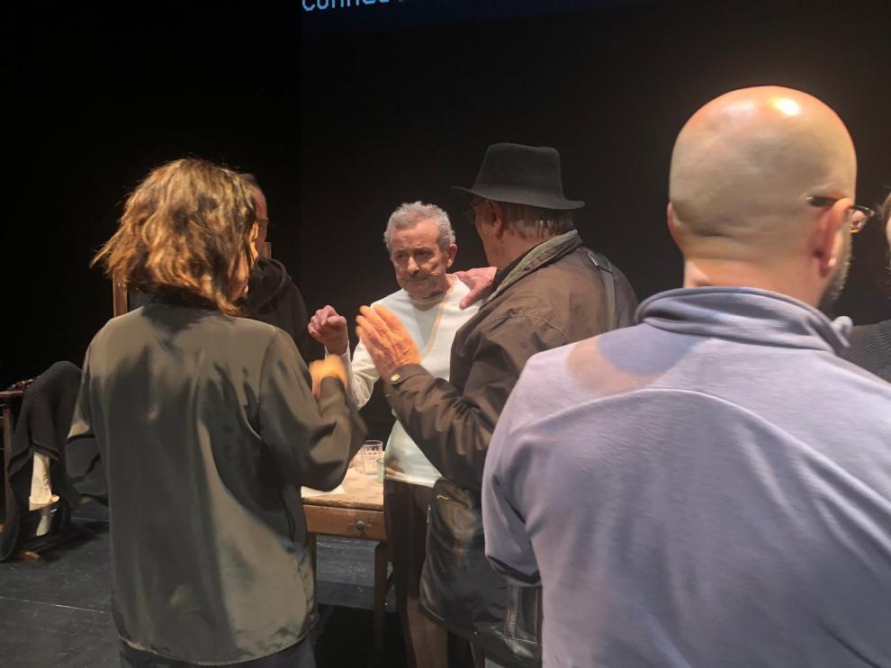 """Carlos Saura: """"El teatro es una aventura, es un plano general y hay que espabilarse"""""""
