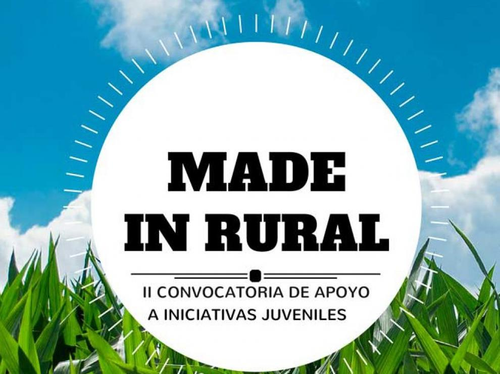 """Dos jóvenes de la provincia de Huesca, en la segunda fase de """"Made in Rural"""""""
