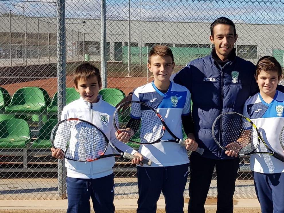 Arrancan los Regionales Alevín y de Veteranos de Tenis de Tenis