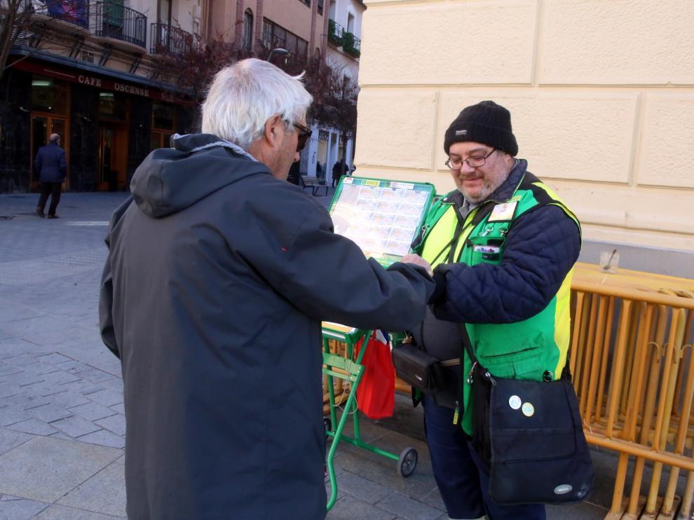 El frente frío hace que se desplomen en Huesca los termómetros
