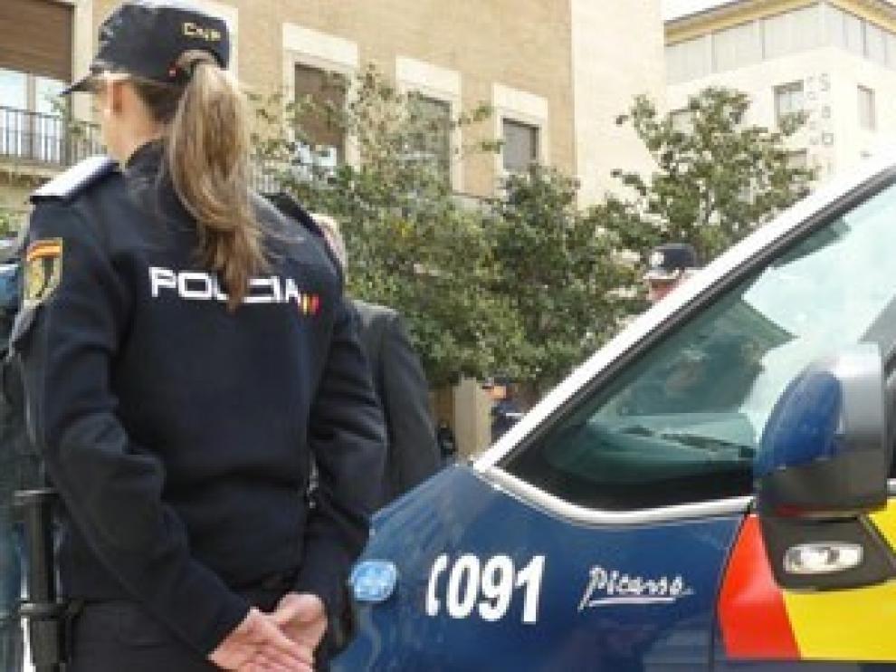La Policía Nacional investiga tres robos cometidos en Navidad en el barrio de Santiago de Huesca