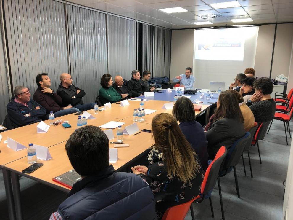 Las empresas de la comarca se acercan a los jóvenes para crecer