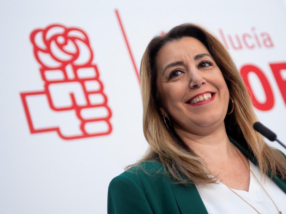 """Díaz repetirá como candidata para """"recuperar"""" Andalucía"""