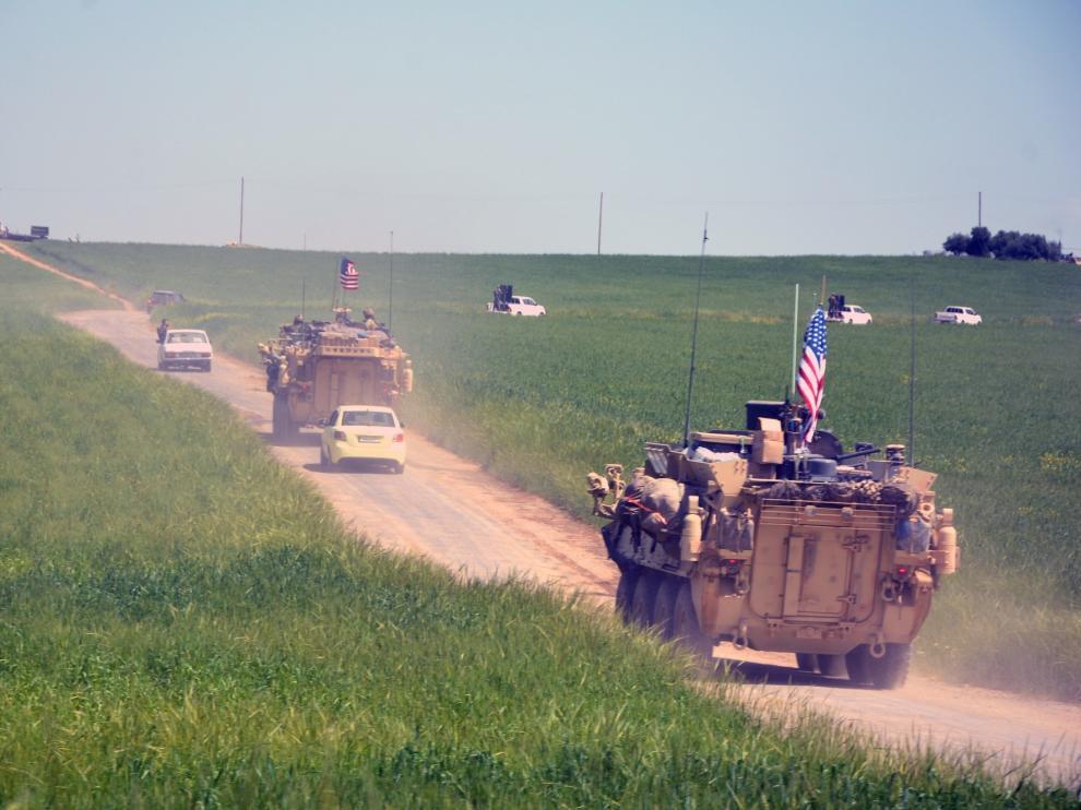 EEUU inicia la retirada de las tropas desplegadas en Siria