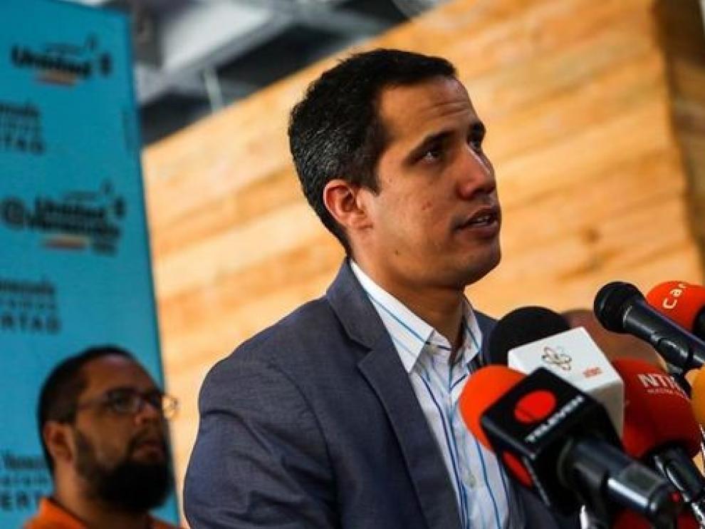 Guaidó pide apoyo para gobernar en Venezuela