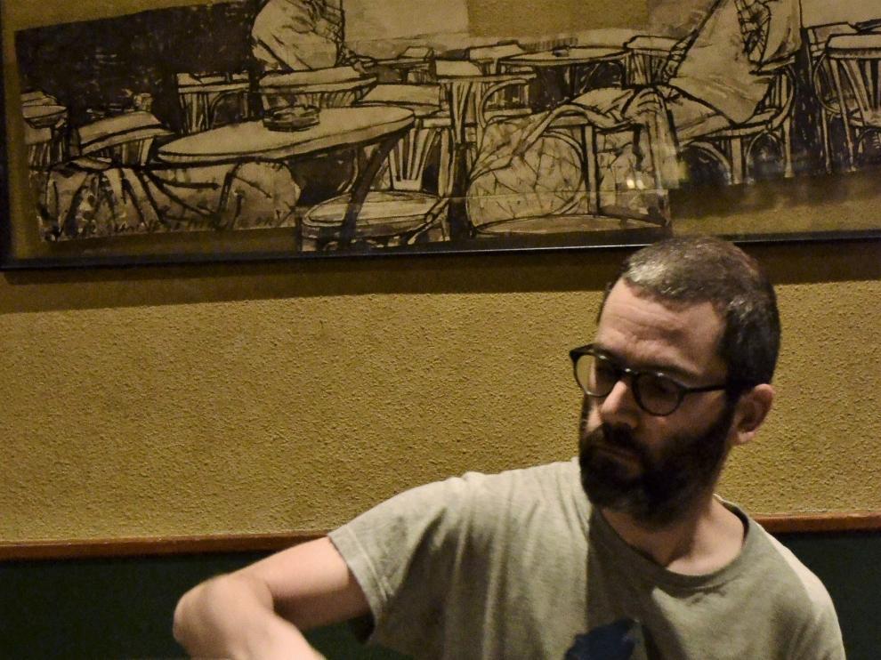 Ramón Prats presenta en Huesca su proyecto Solot