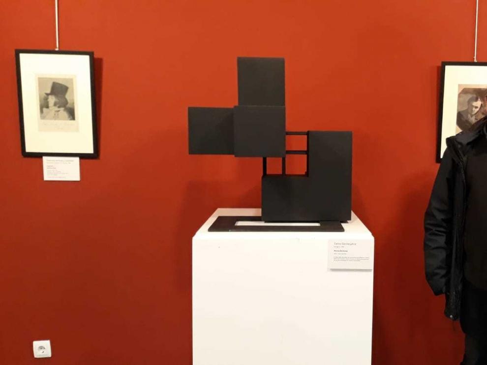 Obra de Carlos García Lahoz en relación con Goya y Shevchenko