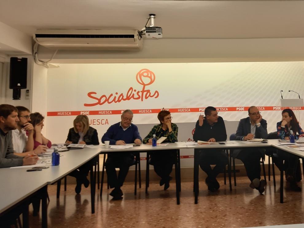 El comité electoral del PSOE del Alto Aragón empieza a trabajar