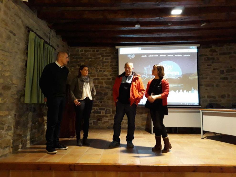 El Ayuntamiento de Boltaña presenta su nueva página web de turismo