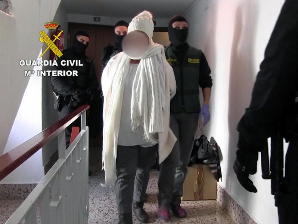 Varios detenidos en Zaragoza por el secuestro de un empresario