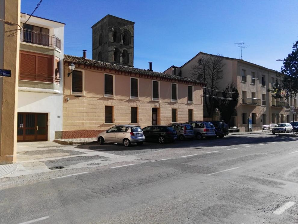 Ayerbe prevé reorganizar los viales de la plaza Aragón