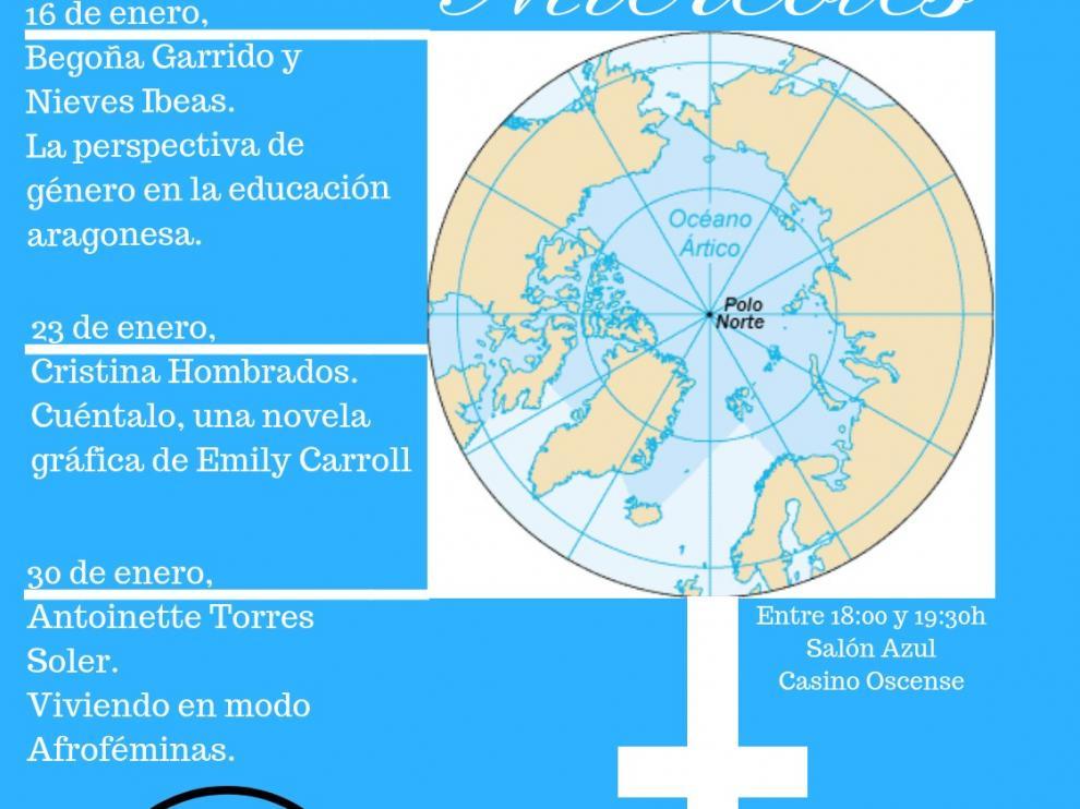 """El área de Igualdad del Ayuntamiento de Huesca programa el ciclo """"Miércoles en Círculo Polar"""""""