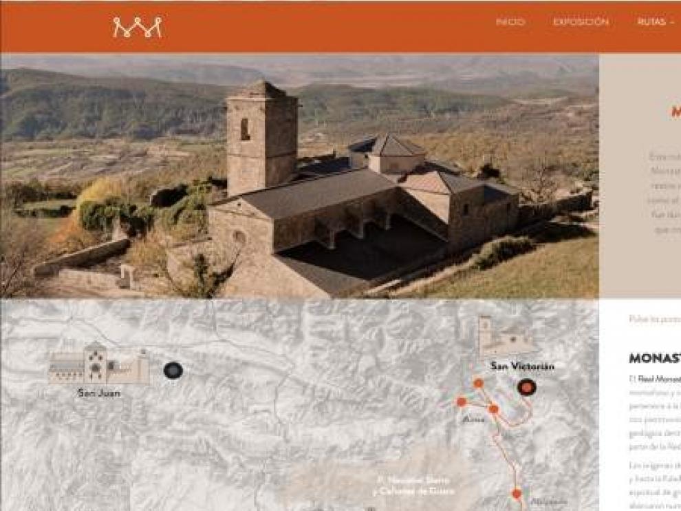 El Gobierno de Aragón crea una página web dedicada a los panteones reales