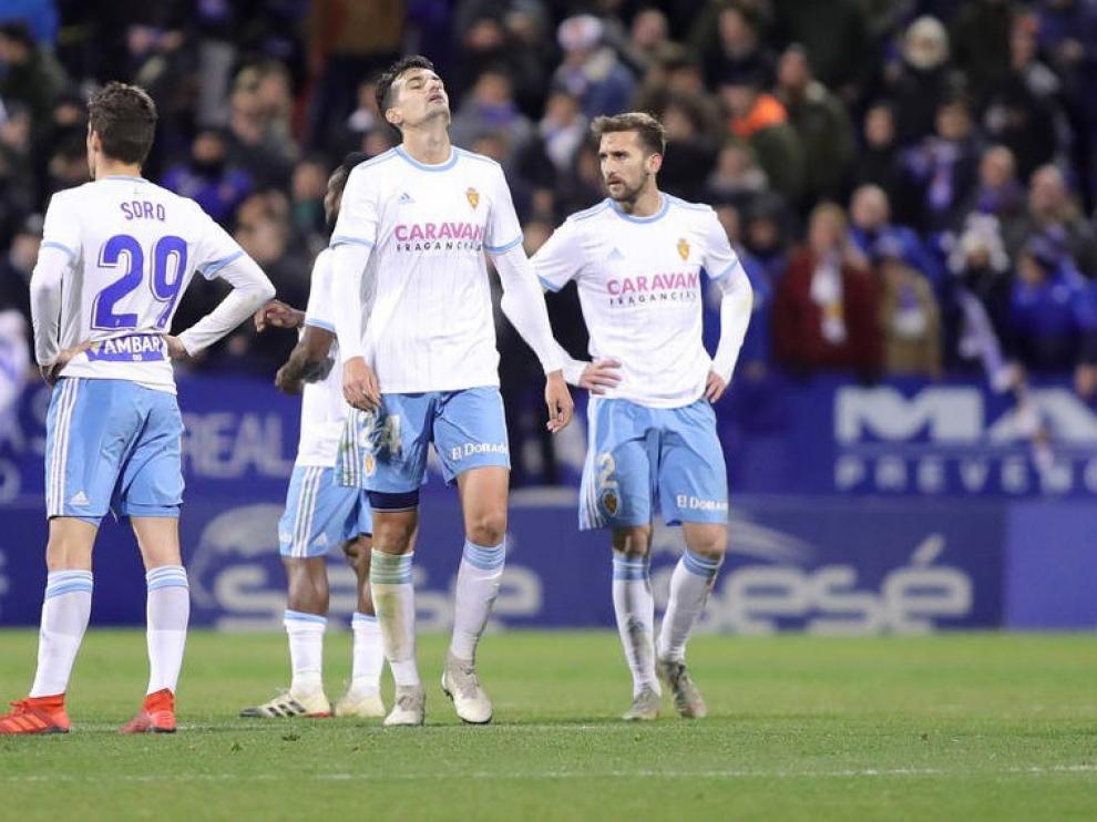 El Real Zaragoza ve cortada su progresión ante un sólido Málaga