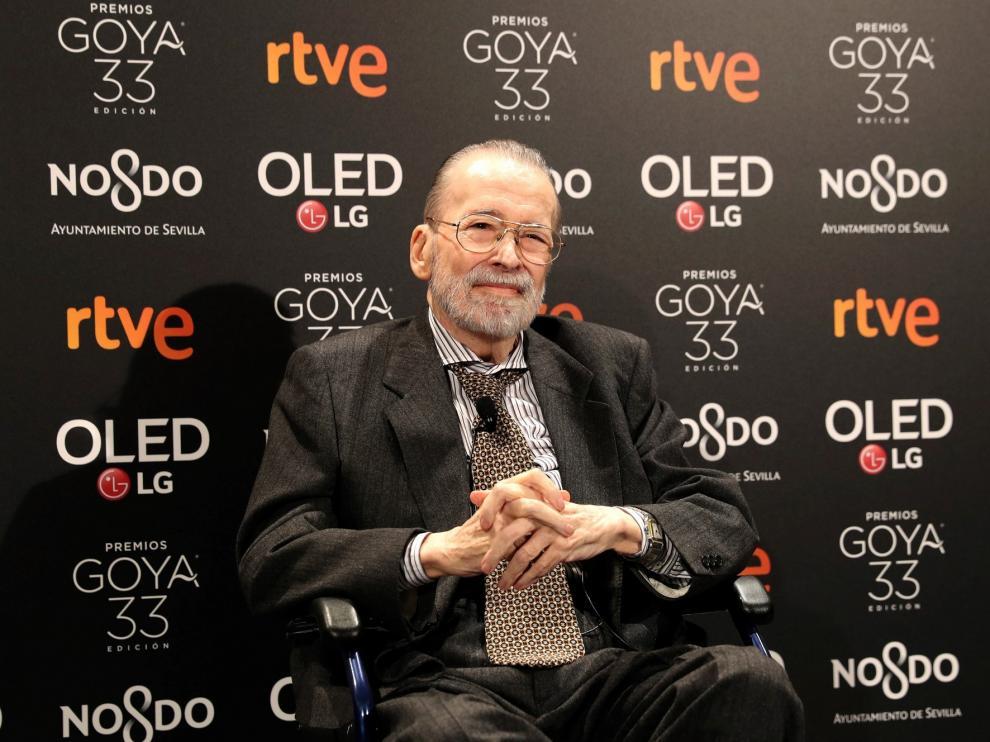 """Chicho Ibáñez Serrador, Goya de Honor 2019: """"Siempre me negué al título de maestro"""
