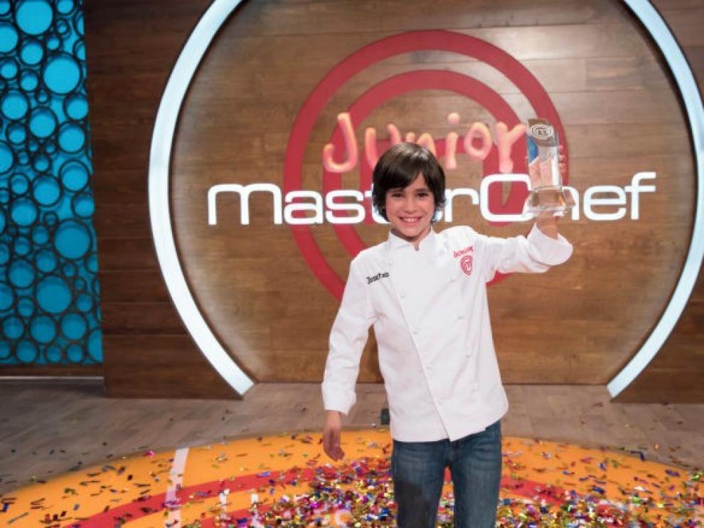 """""""Masterchef Junior"""" corona a Josetxo en su sexta edición"""