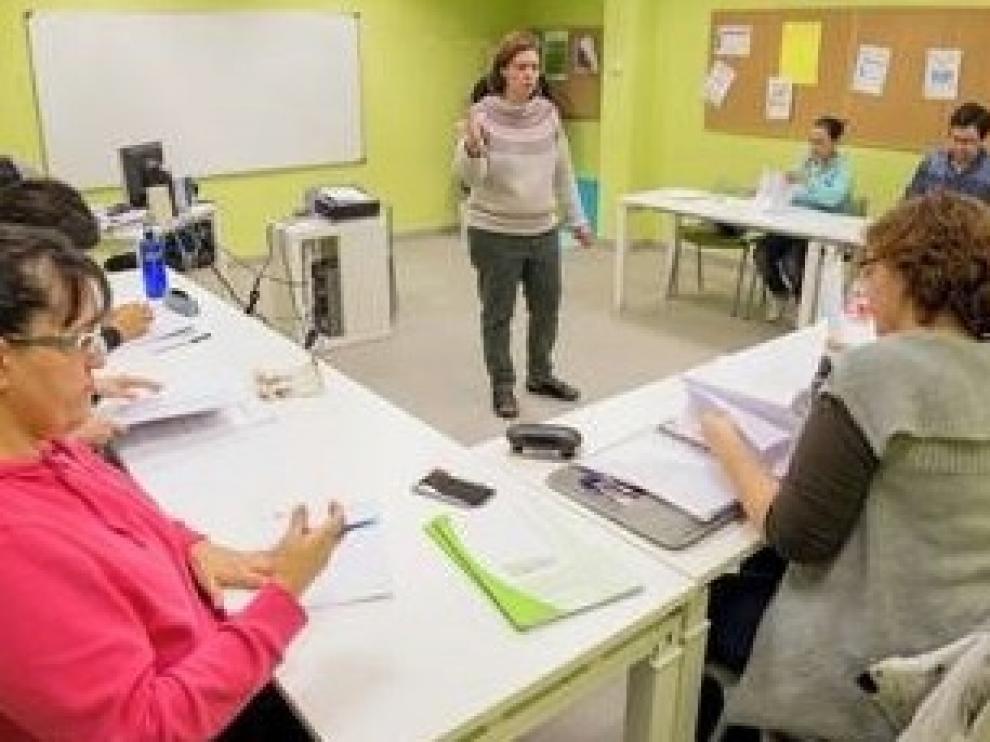Más de un centenar de alumnos finalizan los talleres del Inaem de Huesca