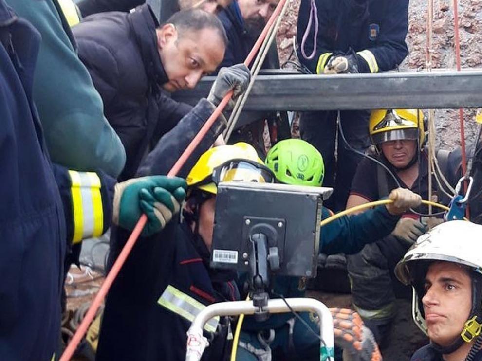 Los equipos de rescate esperan localizar a Julen en las próximas 24 o 48 horas
