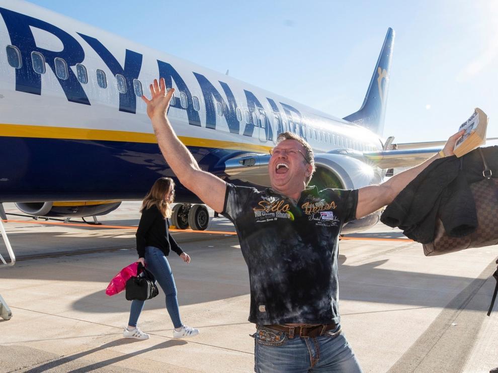 Felipe VI inaugura el Aeropuerto de Murcia