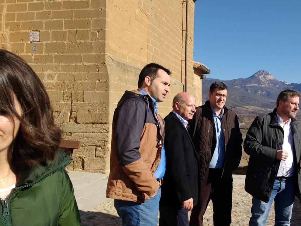 Soro destaca en Bolea el aumento de las visitas al patrimonio histórico