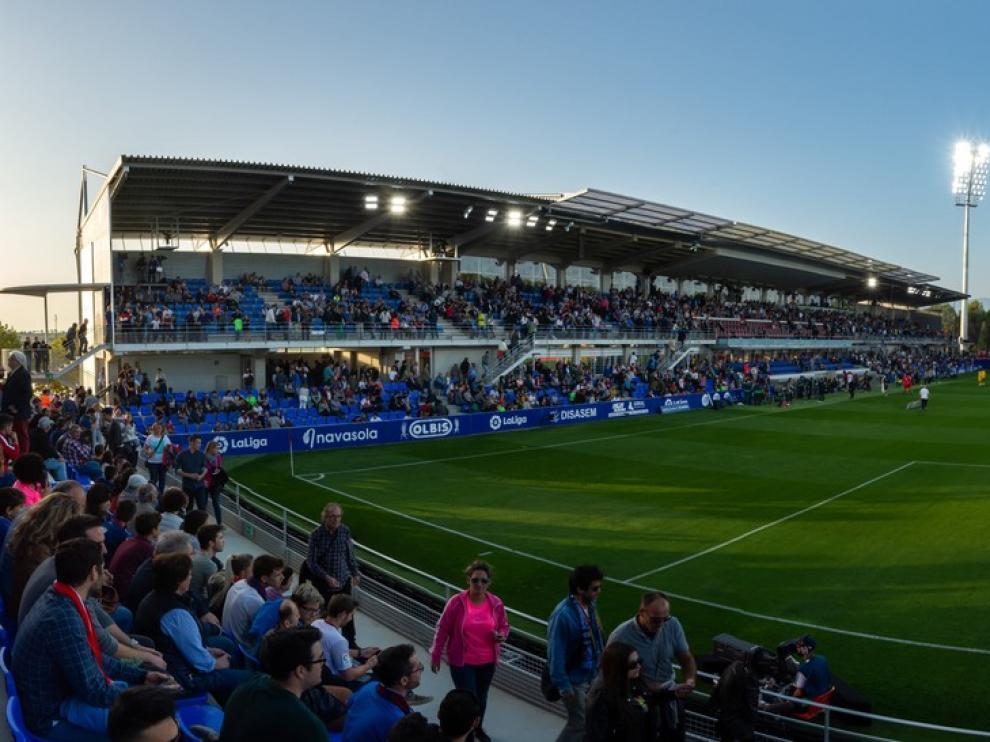 El Alcoraz es el tercer estadio con más porcentaje de ocupación en Primera División