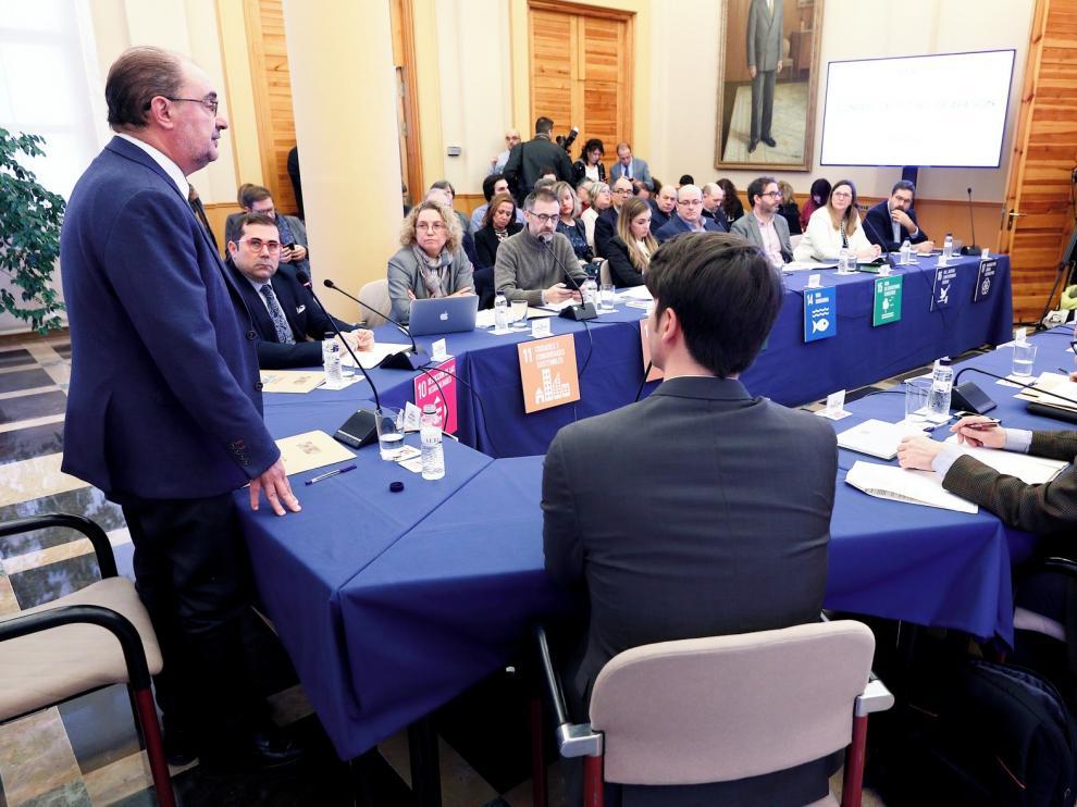 Lambán exige igualdad en la financiación de las autonomías