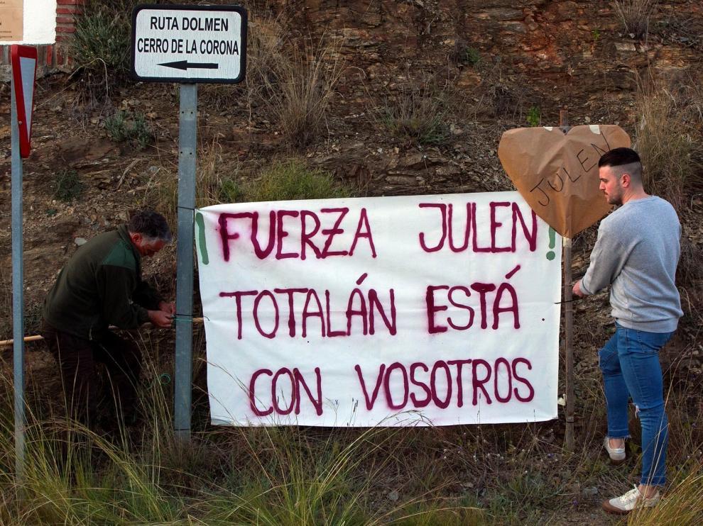 Siguen buscando a Julen cuando se cumplen 90 horas desde que cayó al pozo