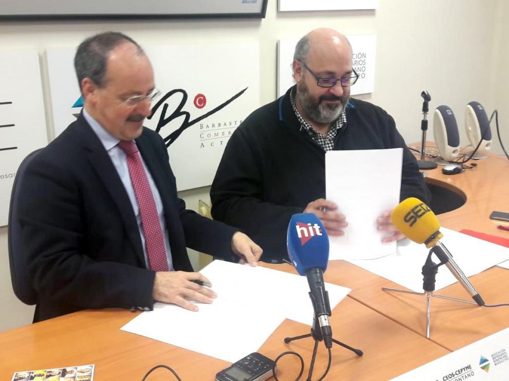 Cáritas Barbastro-Monzón y los empresarios de Barbastro se unen para prmover la inserción laboral