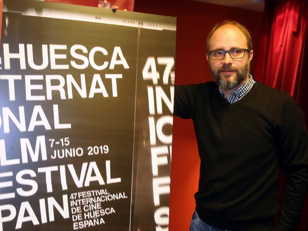 Ana Criado da imagen al Festival de Cine de Huesca