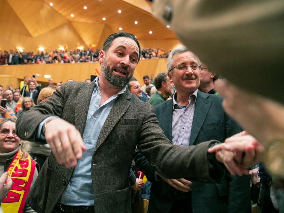 Seis detenidos tras los incidentes previos al mitin de Vox en Zaragoza