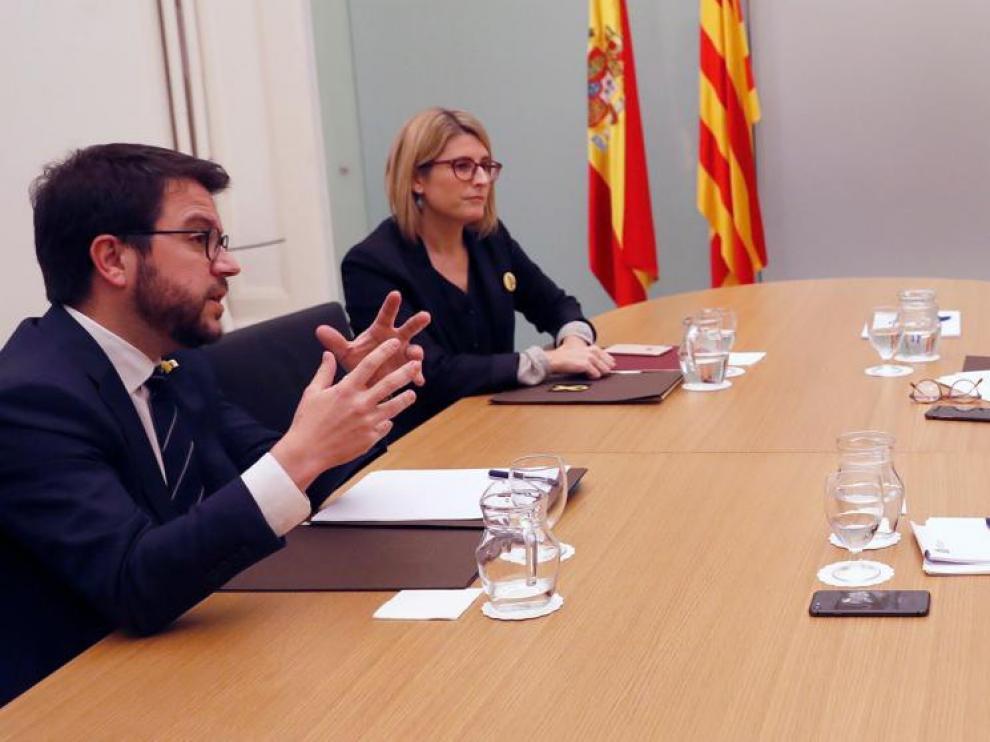 El Gobierno y la Generalitat de Cataluña acuerdan un espacio de diálogo entre partidos