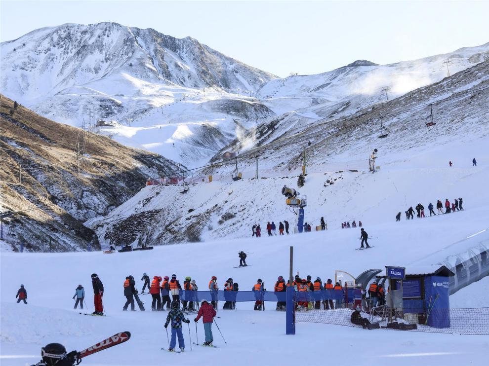 Prevén nevadas en el Pirineo desde los 1.000 metros este fin de semana