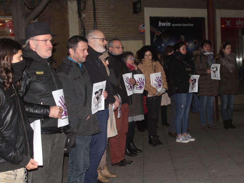 Monzón muestra su condena por el asesinato de la abogada de Zaragoza