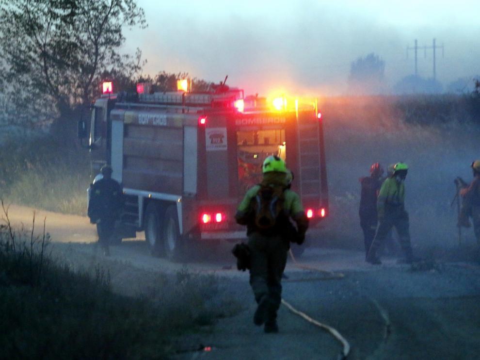 La Diputación cierra este mes las transferencias de bomberos