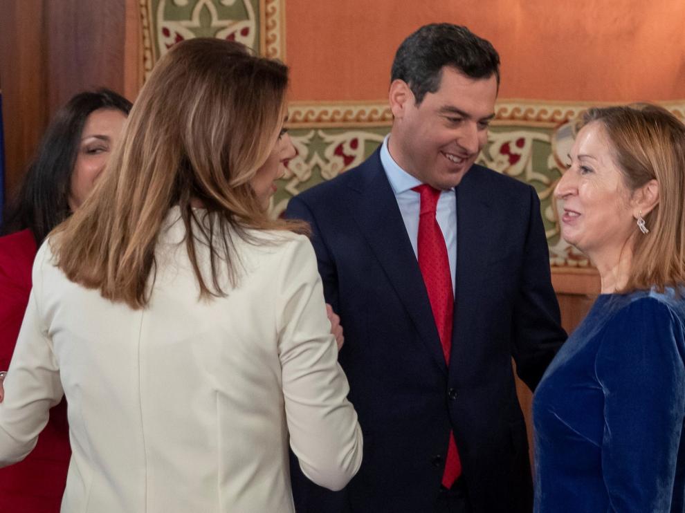 Moreno combatirá al independentismo desde Andalucía
