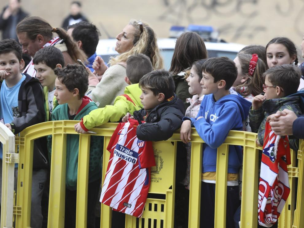 El Huesca buscará este sábado su remontada hacia la salvación ante el Atlético de Madrid