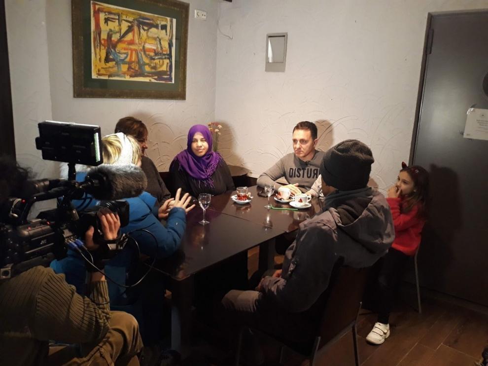 """""""Tempero"""" conversa con refugiados llegados a Aragón"""