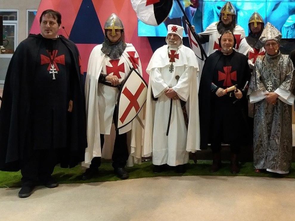 El Homenaje a Guillem de Mont-Rodón afila las espadas para su presentación en Fitur