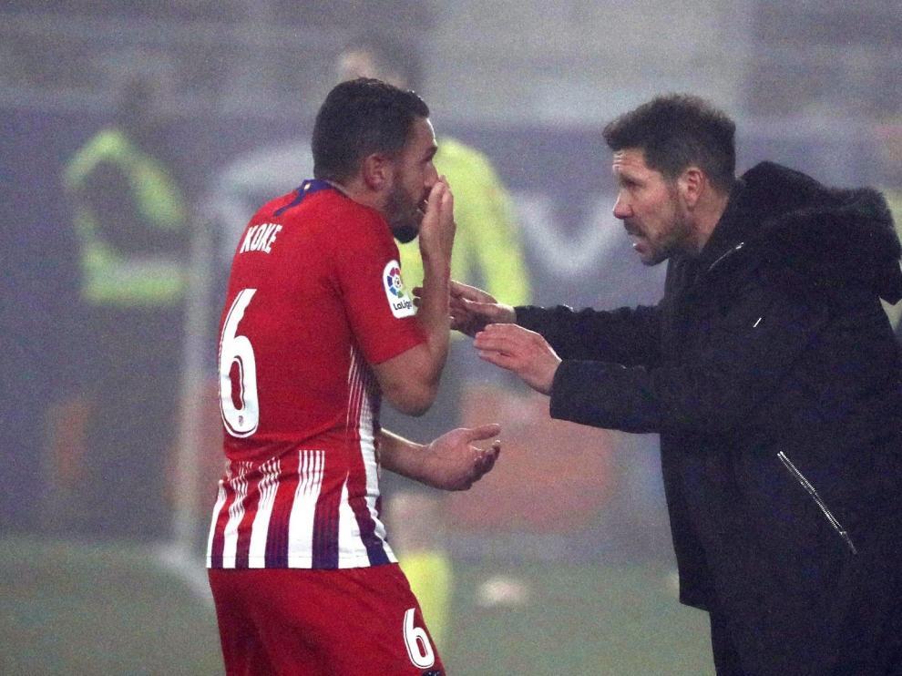 """Simeone: """"La respuesta del equipo genera ilusión, entusiasmo y tranquilidad"""""""