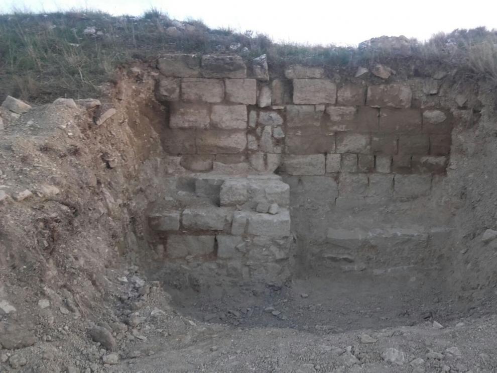 Las catas por las obras del pantano de Almudévar documentan varios yacimientos
