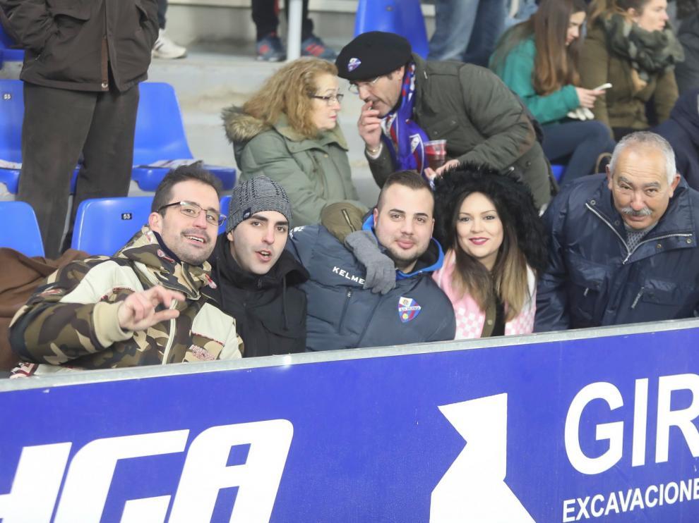 El Huesca acusó la baja de Petón, que se perdió el partido de su vida