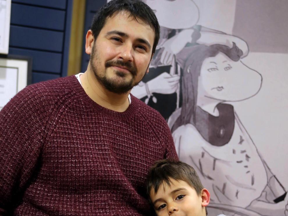 """Jesús Sirio Riba: """"Crear me da placer y me gusta mezclar fantasía y dibujo"""""""