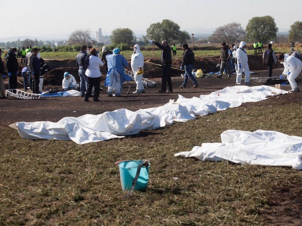 Una explosión de gas en en México deja decenas de muertos