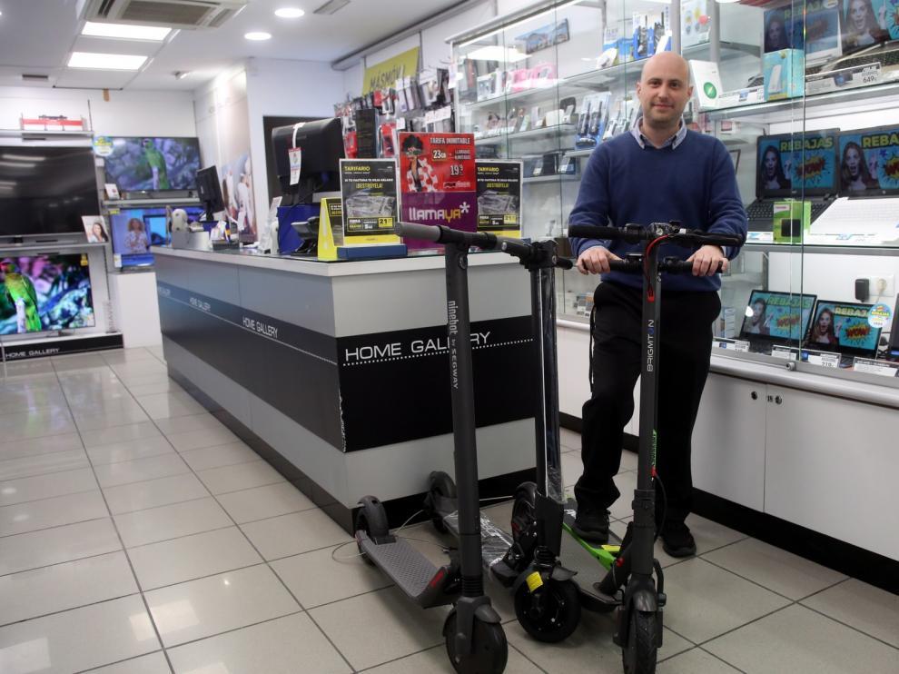 El auge de los patinetes eléctricos llega a Huesca