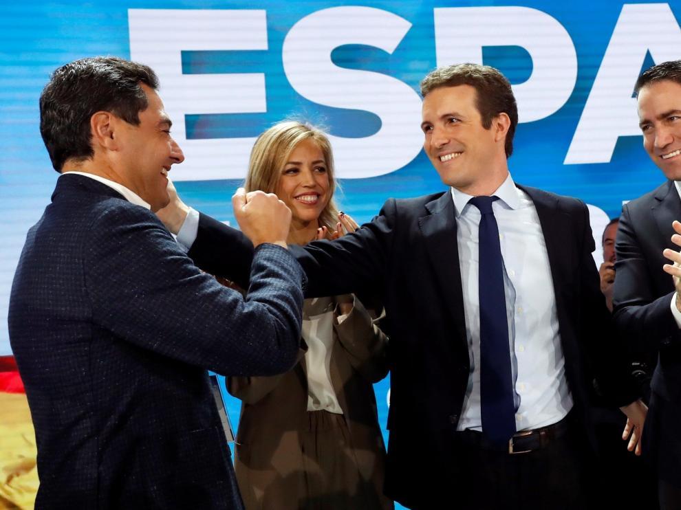 """Casado pide el voto y un PP """"ambicioso"""""""