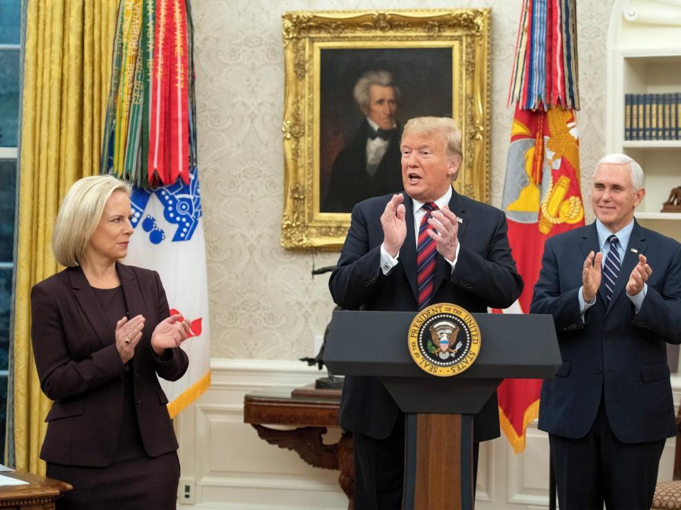 """Trump, presidente de un país """"cerrado"""" dos años después"""