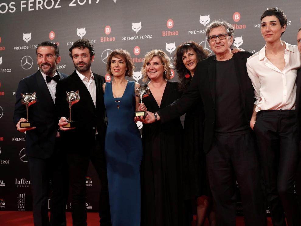 "Los Premios Feroz coronan a ""El reino"", de Sorogoyen"
