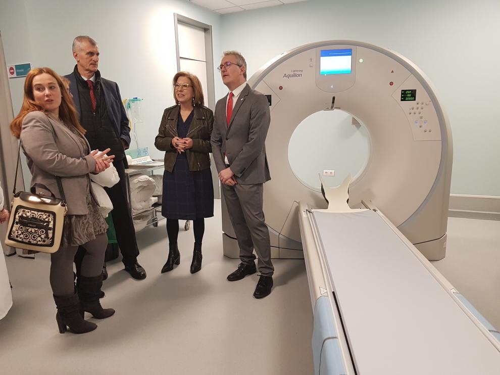 El Hospital de Jaca completa su oferta con un nuevo TAC