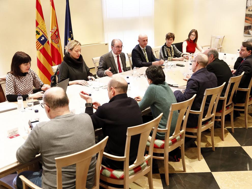La Mesa del Diálogo Social consolida el trabajo conjunto del Gobierno y los agentes sociales
